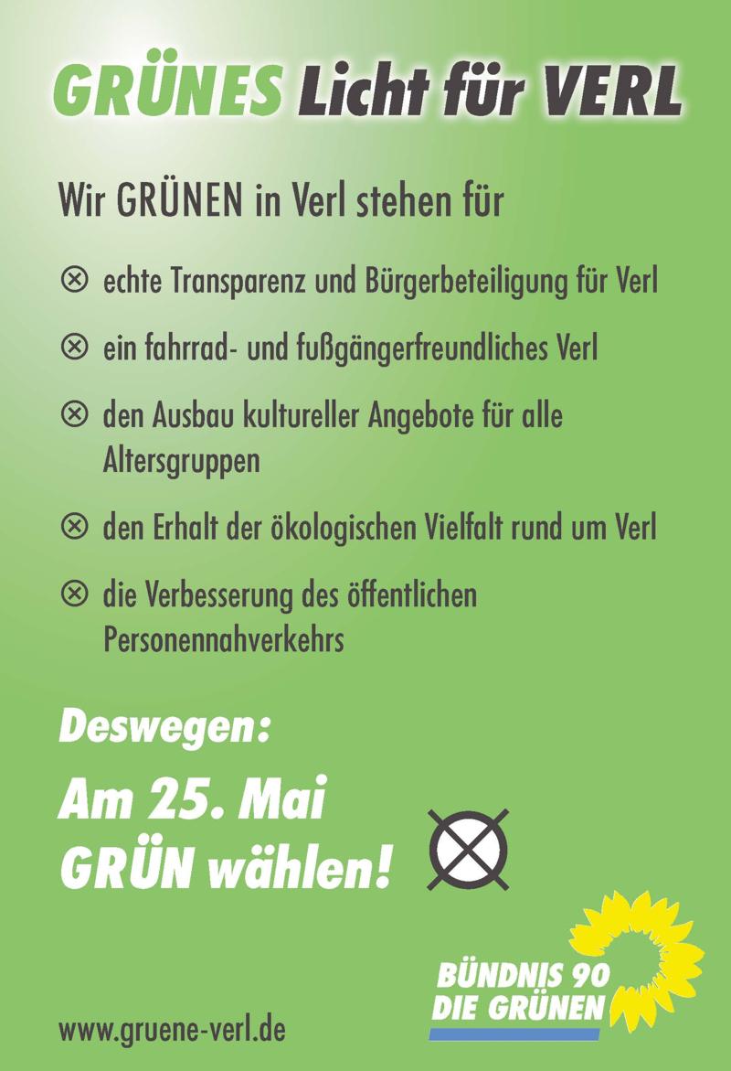 Wahlkampf-Flyer